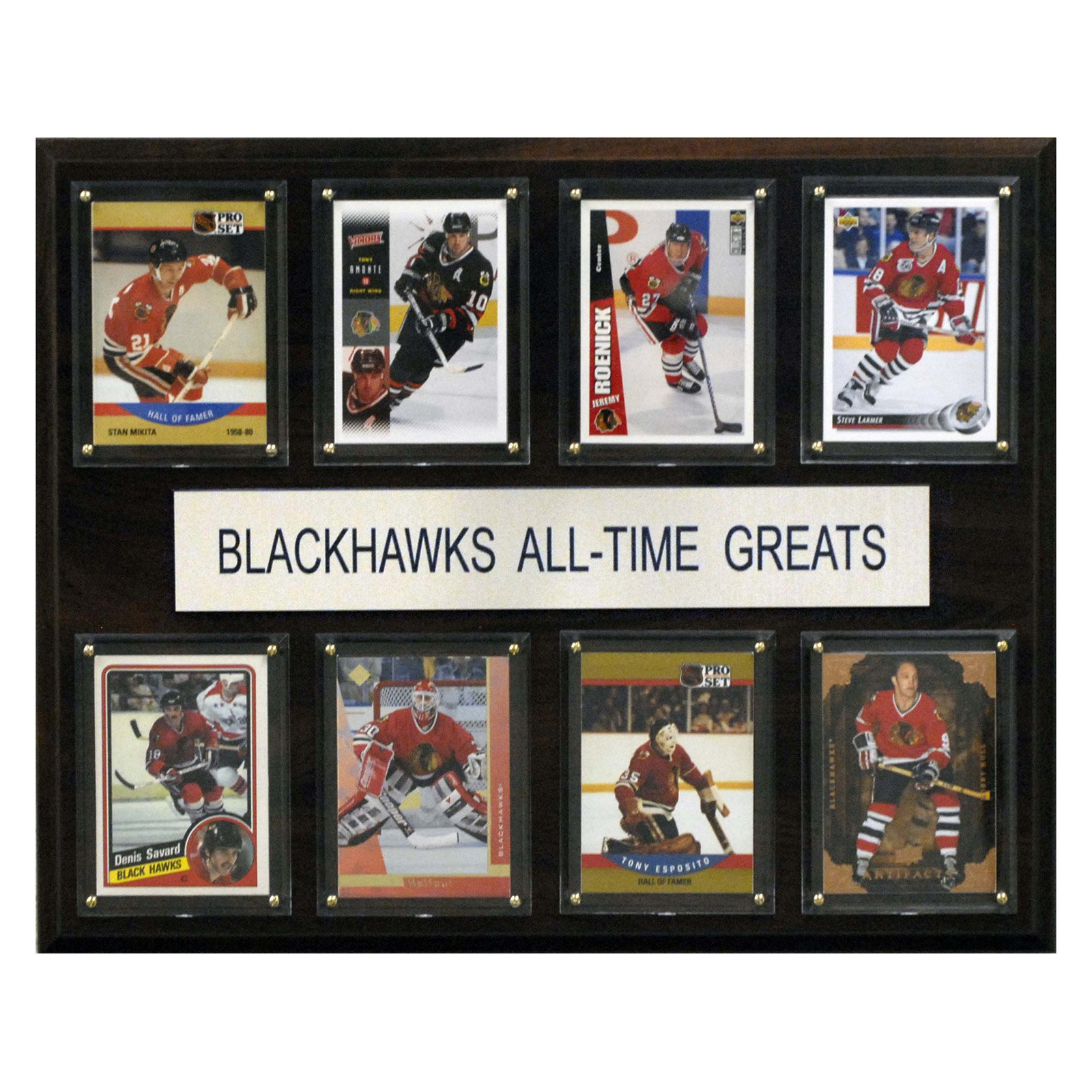 C&I Collectables NHL 12x15 Chicago Blackhawks All-Time Greats