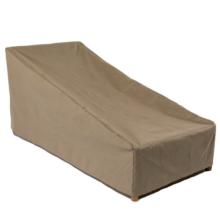 Duck Covers Essential 66 in. L Patio Chaise Lounge Cover