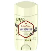 Old Spice Antiperspirant Deodorant for Men Wilderness with Lavender 2.6 oz