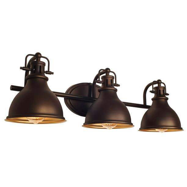 Kira Home Beacon 26 5 3 Light Traditional Vanity Bathroom Light Oil Rubbed Bronze Finish Walmart Com Walmart Com