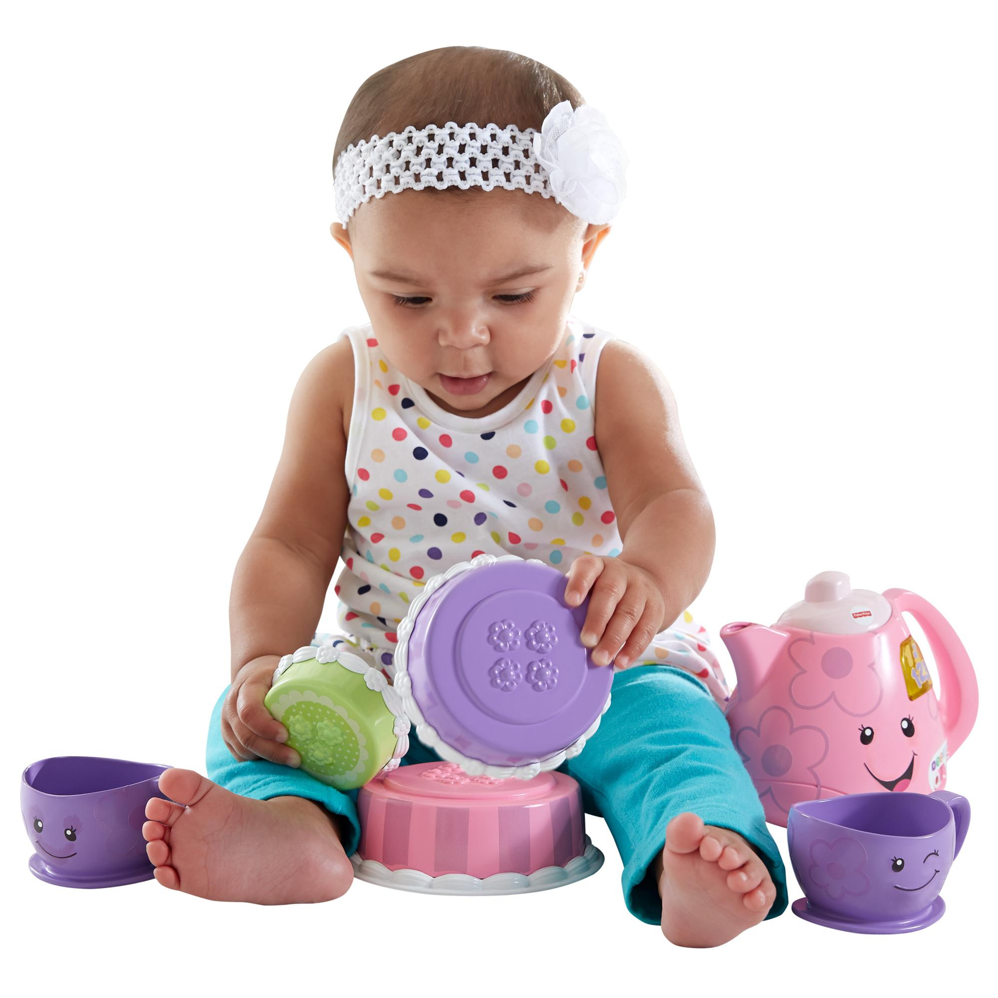 Fisher Price Laugh & Learn Smart Stages Tea Set by Fisher-Price