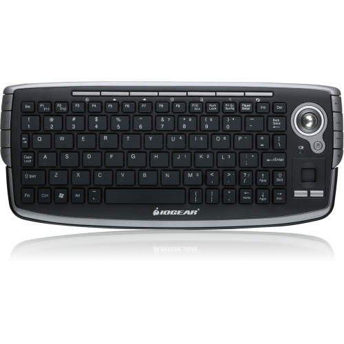 IOGear Wireless Compact Keyboard with Optical Trackball and Scroll Wheel