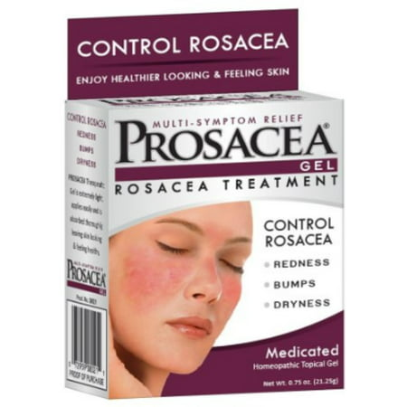 PROSACEA Rosacea Treatment Homeopathic Topical Gel, .75