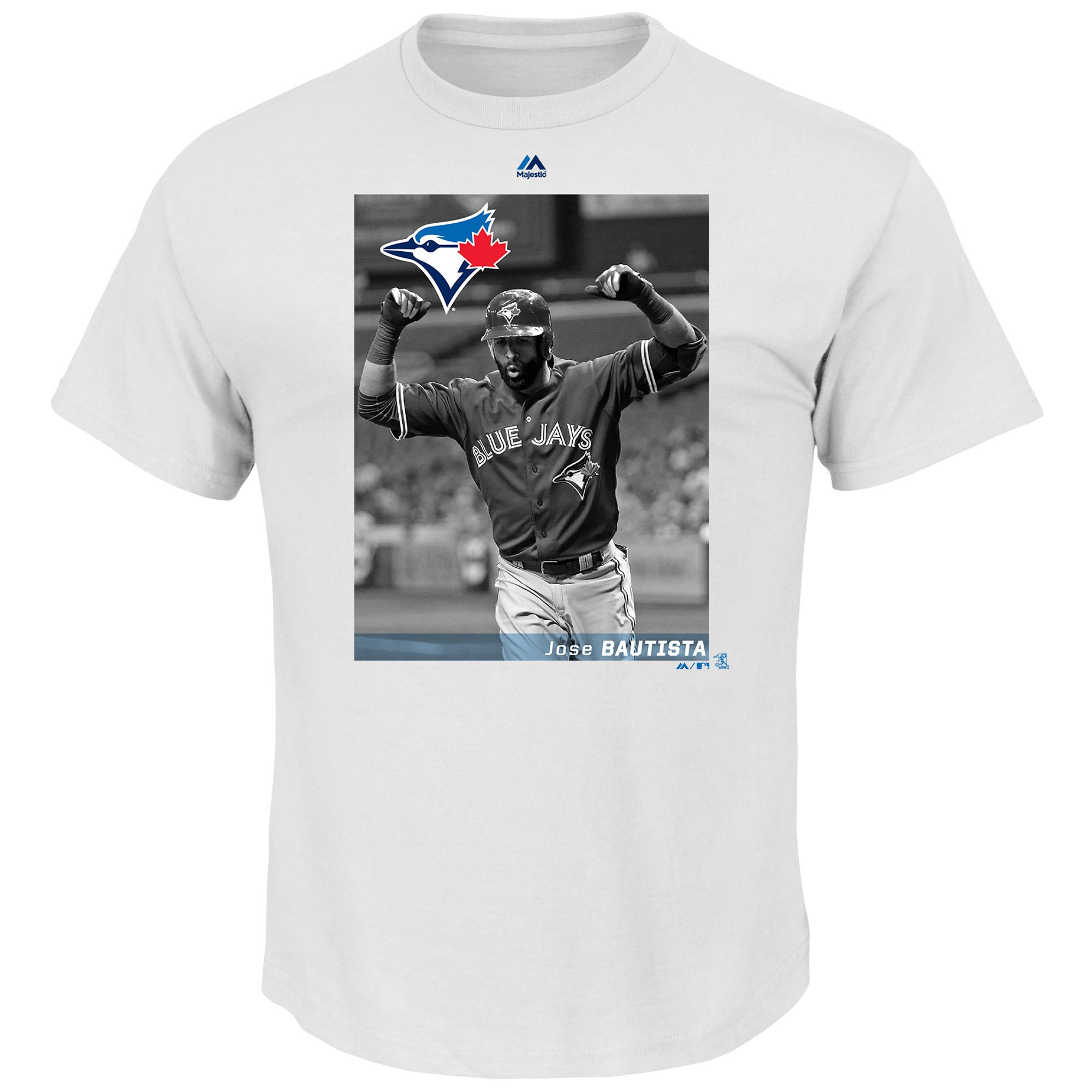Jose Bautista Toronto Blue Jays Majestic Believe In The Game T-Shirt - White