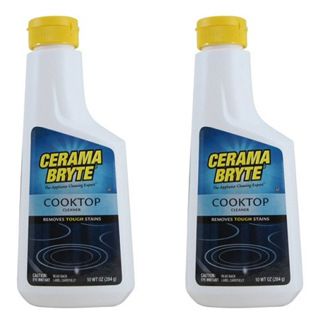 (2 Pack) Cerama Bryte Cooktop Cleaner, 10 oz