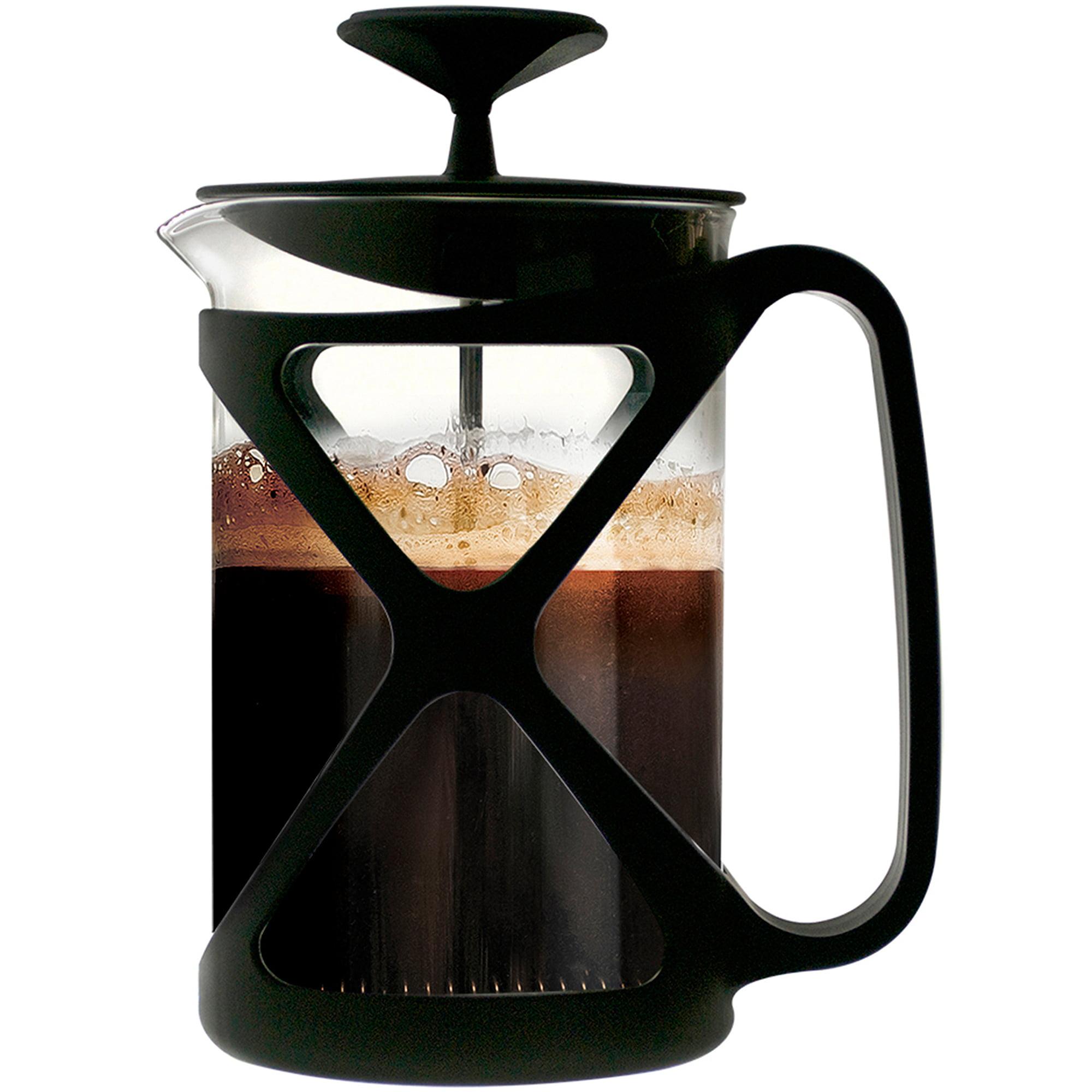 Primula Tempo 6-Cup Coffee Press, Black