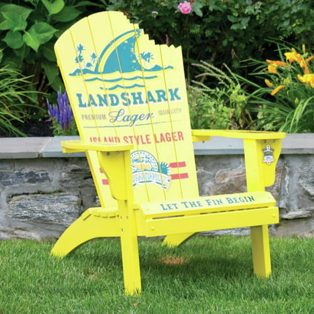 Landshark Solid Wood Adirondack Chair