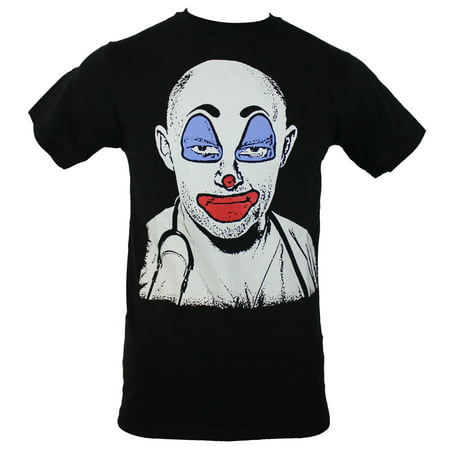 Childrens Hospital Mens T-Shirt - Dr. Blake Downs Clown Face Image
