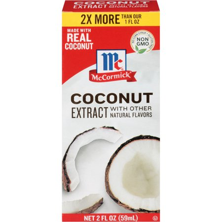 (4 Pack) McCormick Coconut Extract, 2 fl oz