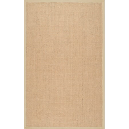 nuLOOM Machine Woven Orsay Sisal Area Rug or Runner (Palm Sisal Rug)