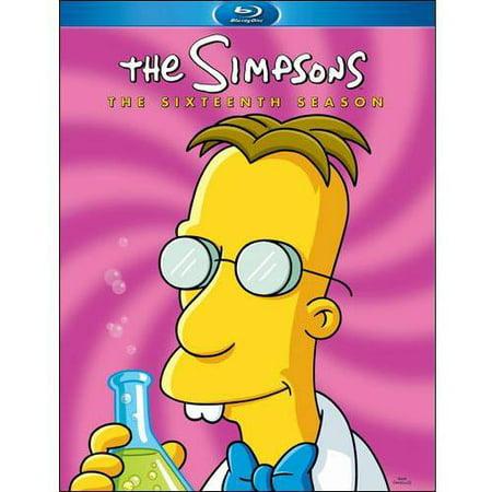 The Simpsons: The Sixteenth Season (Blu-ray)