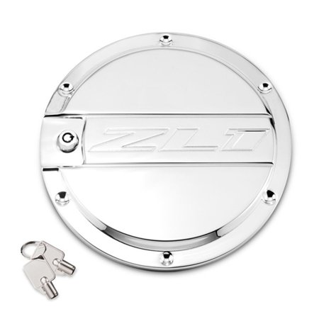 Camaro ZL1 Locking Fuel Door - Chrome
