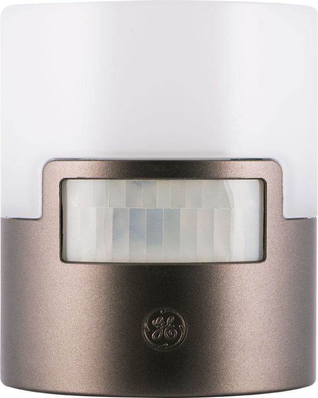GE UltraBrite Motion-Activated LED Night Light, Bronze, 26140 by Jasco Products Company