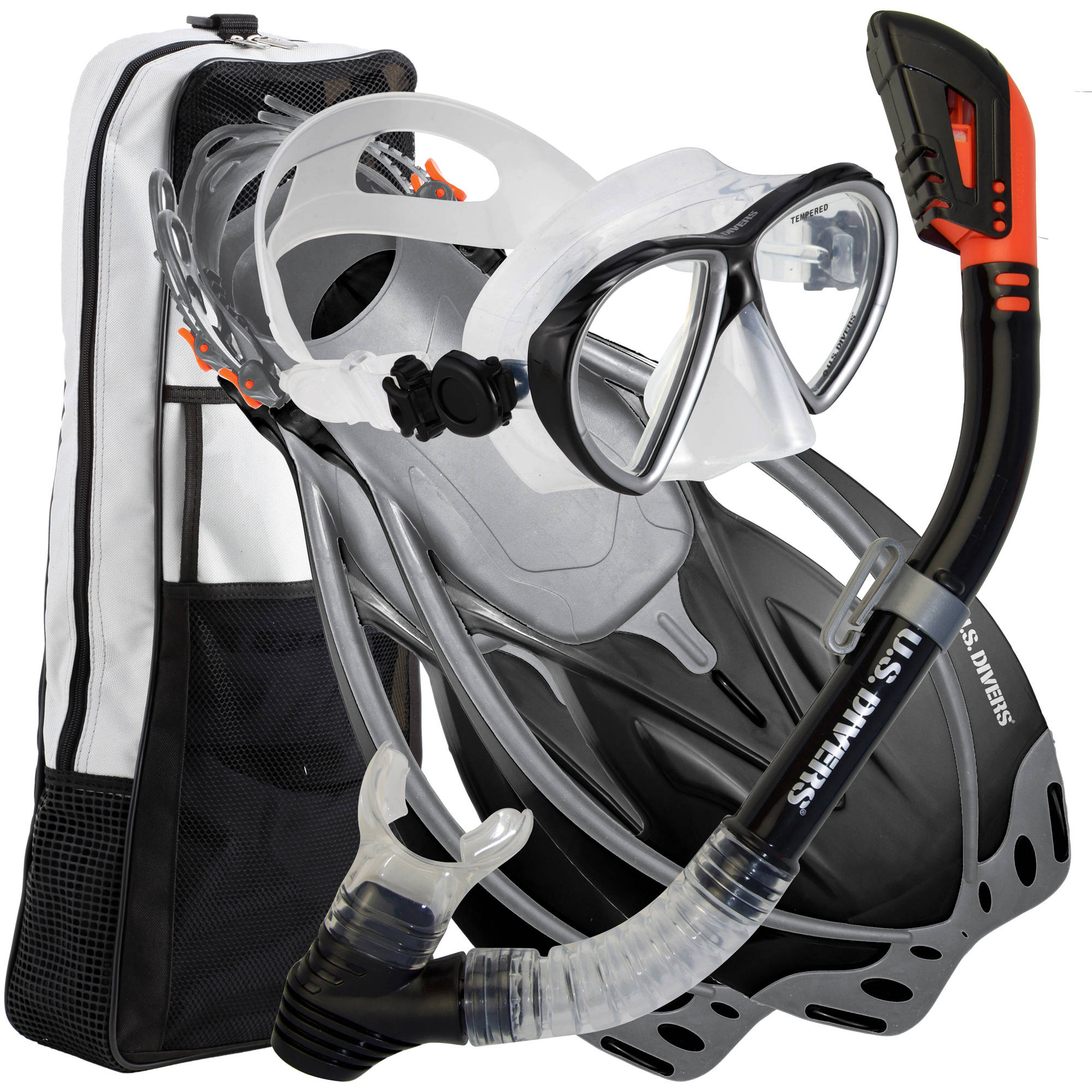 5c3af26484 US Divers Sideview Adult Snorkeling Set - Walmart.com