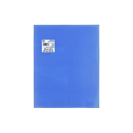 Darice Plastic Canvas #7 Mesh 10.5x13.5 Royal Blue 7 Mesh Plastic Canvas