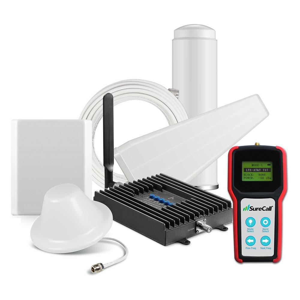SureCall 4G Fusion4Home Yagi & Omni + Panel & Dome + Signal Meter
