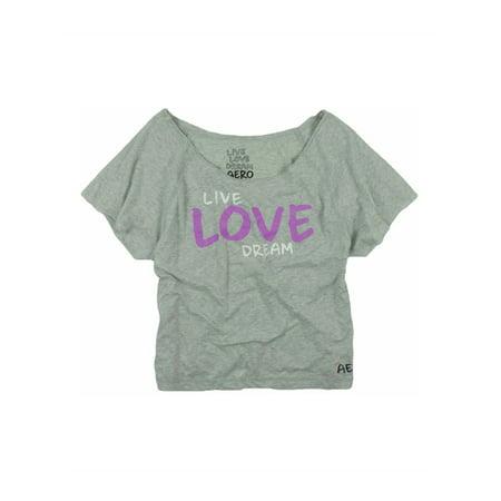 Aeropostale Juniors Live Love Dream Graphic T-Shirt