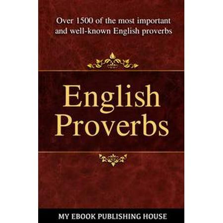English Proverbs - eBook
