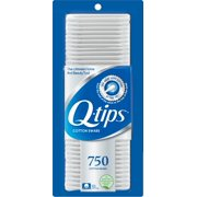 Q-tips Cotton Swabs, 750 ct