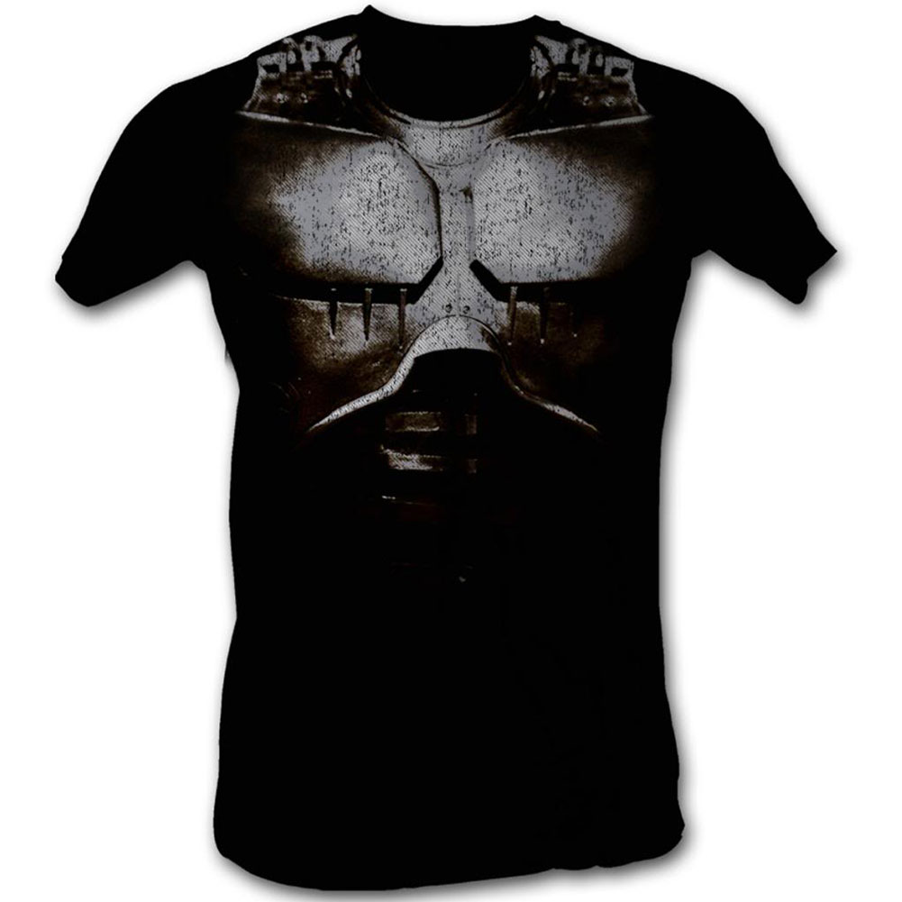 Robocop Men's  Battle Hardened T-shirt Black