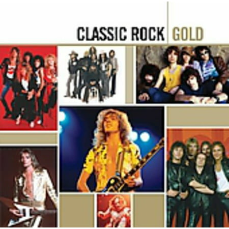 Classic Rock Gold (CD) (Remaster)](Classic Rock Songs For Halloween)