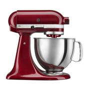 KitchenAid RRK150ER 5 QUART ARTISAN SERIES TILT HEAD STAND EMPIRE RED (Certified Refurbished)