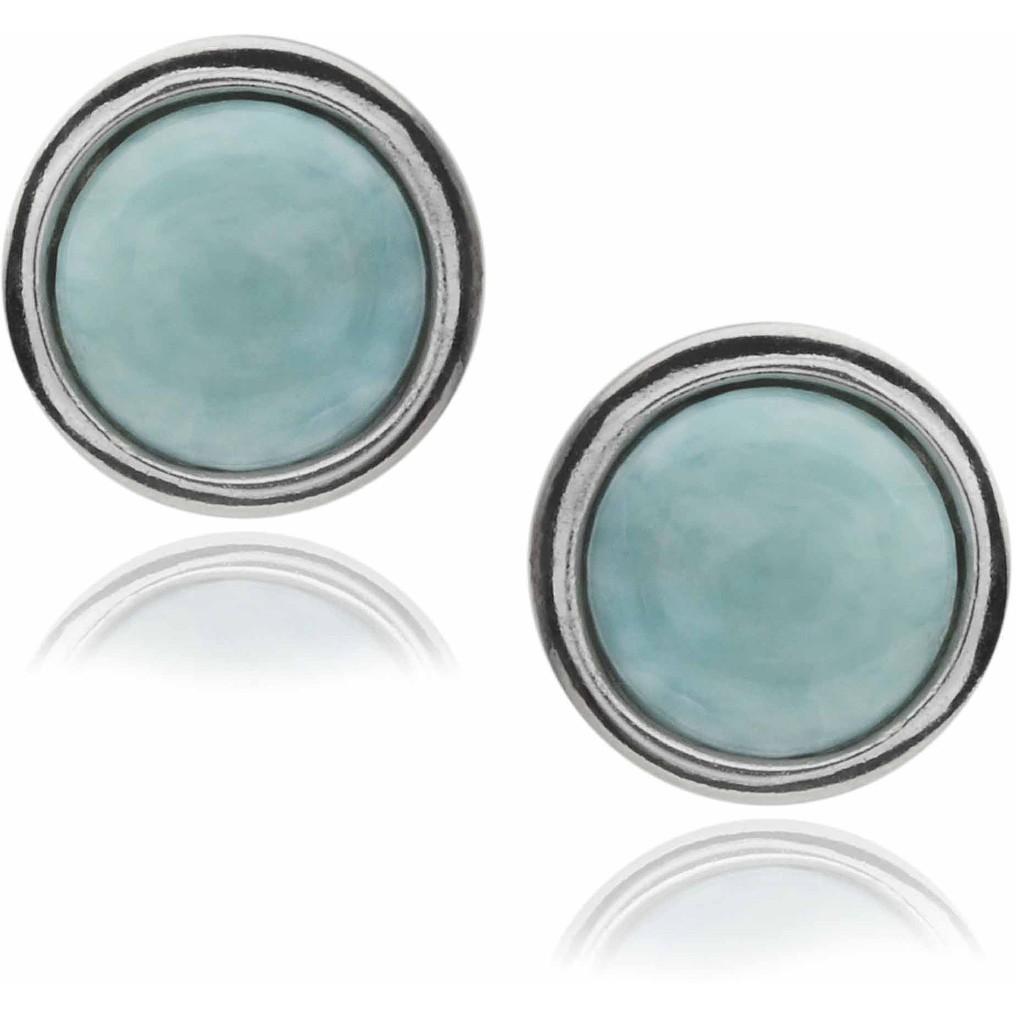Brinley Co. Women's Sterling Silver Round Stud Earrings