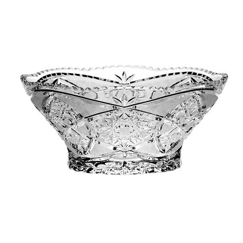 Majestic Crystal Lace Crystal Decorative Bowl