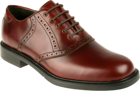 Men's Nunn Bush Macallister 84046 Plain Toe Saddle Lace Up by
