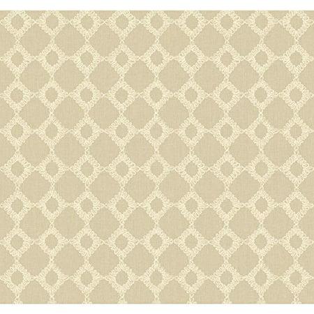 Williamsburg Ii Keswick Ribbon Wallpaper-Color:Multi Bath Williamsburg 2 Light