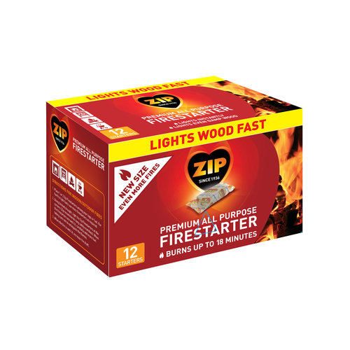 Zip Premium Firestarter, 12-Count by STANDARD BRANDS LIMITED