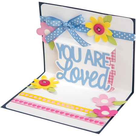 Sizzix Thinlits Drop-Ins Dies by Stephanie Barnard 4/Pkg-You Are Loved 3D - Dice 3d