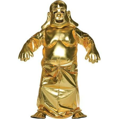 Adult Golden Buddha Costume](Lucky Buddha Halloween)