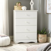 Sauder Storybook 4-Drawer Dresser, Multiple Finishes