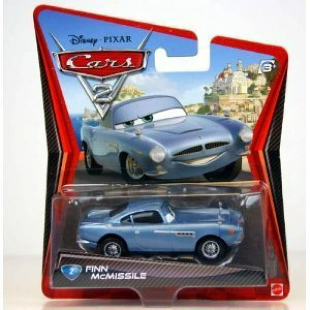 Disney Pixar Cars 2 Movie 155 Die Cast Car 2 Finn Mcmissile Walmart Com Walmart Com