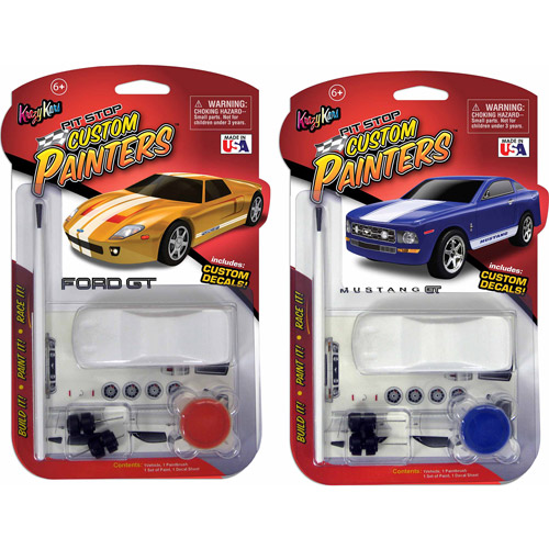 Skullduggery Max Traxxx Custom Painter Ford GT and Mustang Bundle