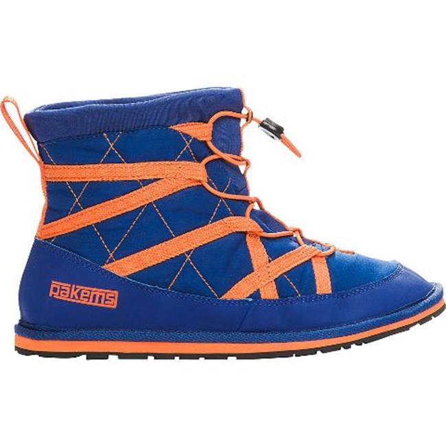Pakems Womens Extreme Blue & Orange Boot, Size - 7