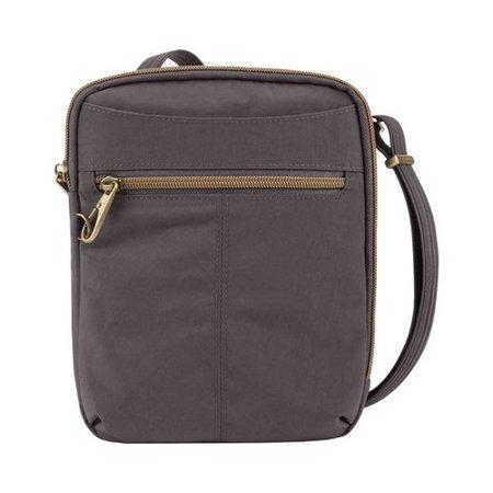 "Travelon Anti-Theft Signature Slim Day Bag 7"" x 8.5"" x 2.5"""