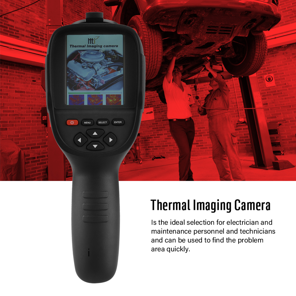 WALFRONT HT-18 Infrared Thermal IMager Thermal IMaging Camera Handheld Temperature Measuring Instrument by WALFRONT