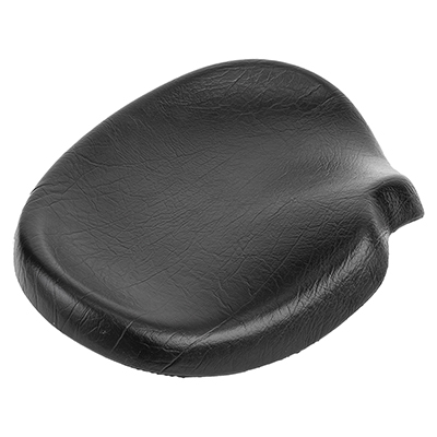 Sun Bicycles Trike Western Saddle with Harware, 16x12in, Black