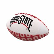 Ohio State Buckeyes NCAA Repeating Logo Mini Football  - Red