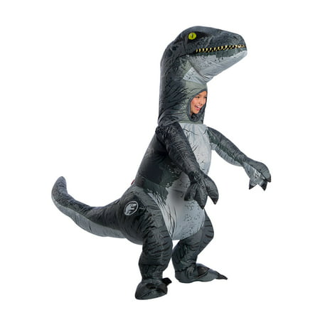 Jurassic World Velociraptor Child Inflatable Halloween - A Play On Words Halloween Costume Ideas
