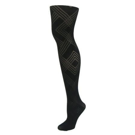 1d377247310 Infinity Women s Geometric Pattern Tights - Walmart.com