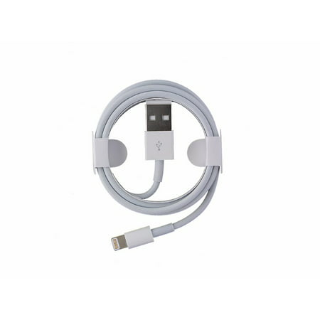 OEM Apple iPhone 5 5S 6 6S 6+ 7 Data Charge & Sync Cable MD818ZM/A Authentic ()