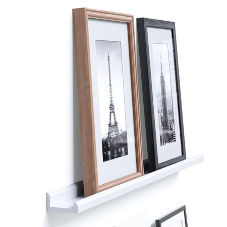 Wallniture Contemporary Floating Wall Shelf Ledge for Picture Frames ...
