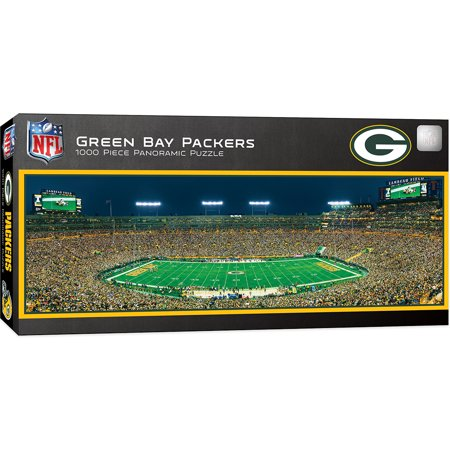 Green Bay Packers 1000 Piece Stadium Panoramic Jigsaw Puzzle