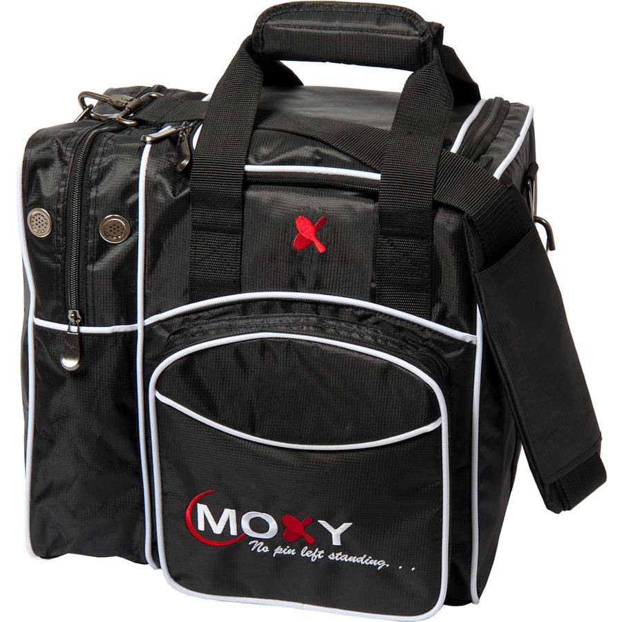 MOXY DELUXE SINGLE TOTE BOWLING BAG- BLACK