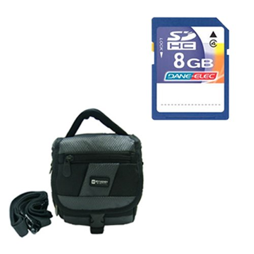 Panasonic HC-W850K Camcorder Accessory Kit includes: KSD48GB Memory Card, SDC-27 Case