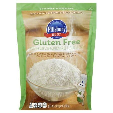 (2 Pack) Pillsbury Gluten Free Flour, 2-Pound (Pillsbury Best Flour Recall)