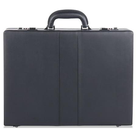 Expandable Attache Case, 13 x 3.5 x 18, Black